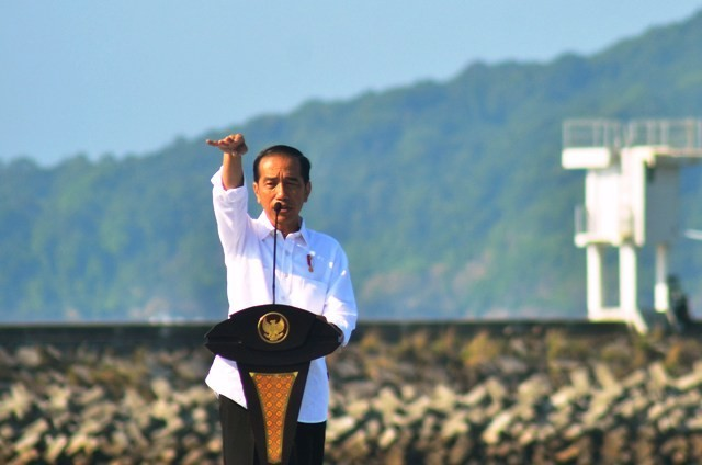 Presiden Joko Widodo Resmikan Program Digitalisasi Sistem Pertanian