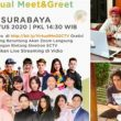Beginilah Keseruan Virtual Meet and Greet SCTV di Surabaya