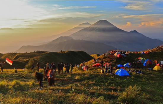 Gunung Gede Pangrango Ditutup Sementara