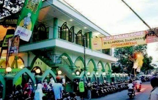 Menengok Masjid Jogokariyan, Masjid Yang Saldo Kasnya Selalu Nol Rupiah