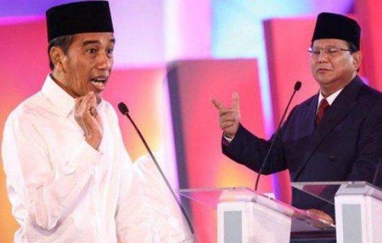Jokowi-Ma'ruf Terancam Dikalahkan Prabowo-Sandi