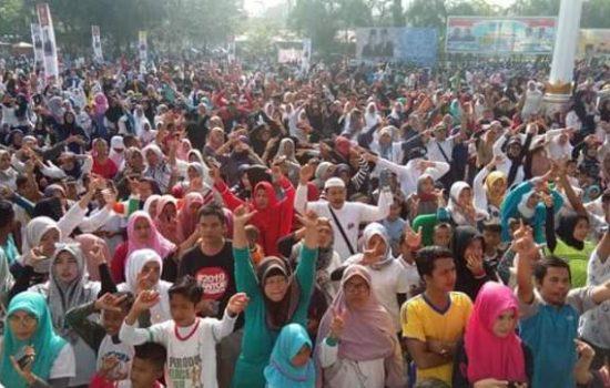 Ribuan Masyarakat Kota Langsa Ikut Jalan Sehat