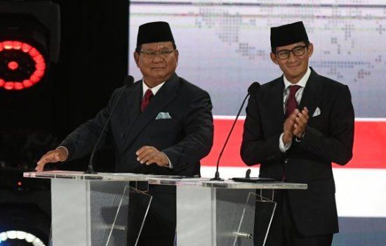 Beda Hasil, Quick Count Indikator, Prabowo-Sandi Unggul 54,68%