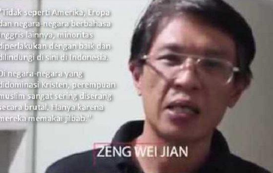 Provokasi Anti Arab Sama Saja Menyakiti Tionghoa