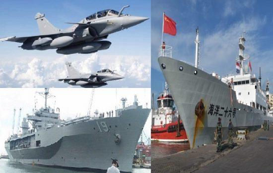 Suhu Politik Genting, Kapal Perang dan Jet Tempur Asing Kunjungi Indonesia