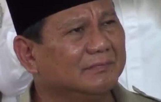 Puisi Haru Fahri Hamzah untuk Prabowo, 'Kan Kuhapus Air Matamu'