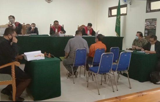 Sidang Pidana Direktur PT. Bangun Nusantara Jaya Makmur (BNJM) Hari Soesanto. SE di Pengadilan Negeri Tamiang Layang Kabupaten Barito Timur Kalteng